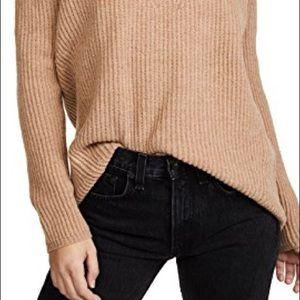 Madewell Marino Wool Tan Sweater